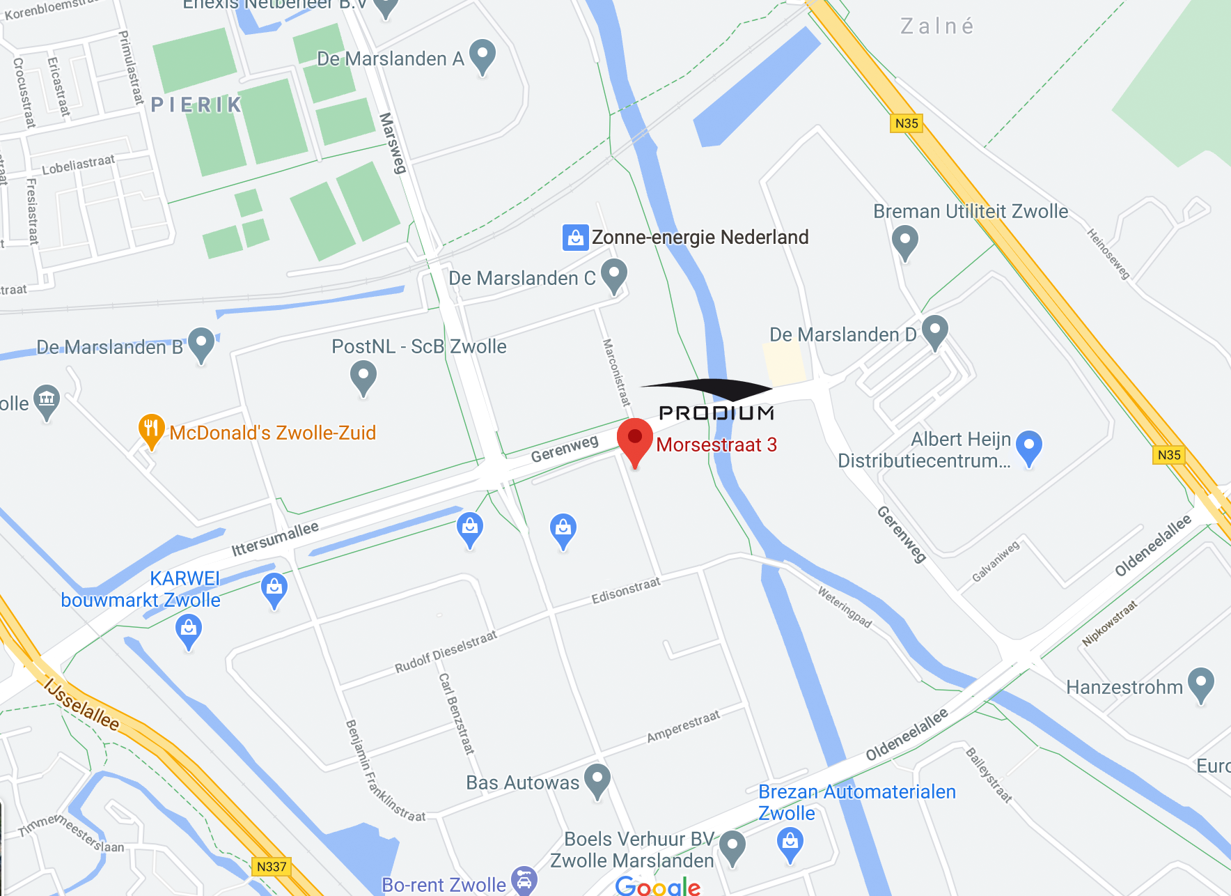Googlemap Prodium